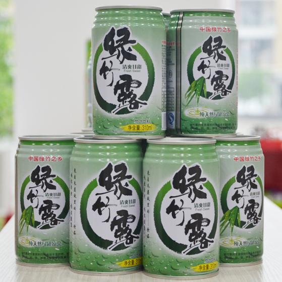 【beplay app商城】尤溪绿竹露 植物饮料 1箱12瓶
